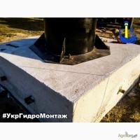 Устройство основания фундамента под водонапорную башню Рожновского в Украине
