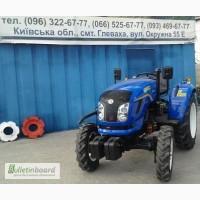 Мини-трактор DongFeng-244 (ДонгФенг-244) с широкой резиной   Купить