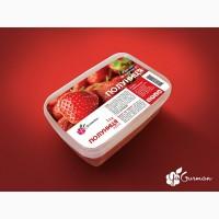 Пюре полуниці заморожене