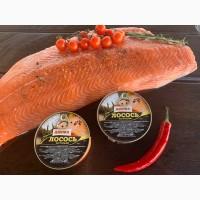 Продам свежемороженый лосось форель