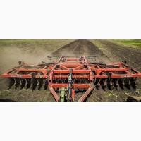 Услуги дискования междурядной обработки почвы закрытие влаги земли Днепр