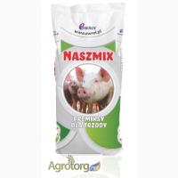 Премикс для свиней Нашмікс Піг Мін 2.5% Гровер- Финиш, Германия