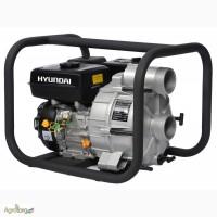Мотопомпы Hyundai (Хундай) для грязной воды, высоконапорные. Оригинал. Доставка