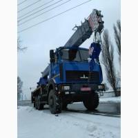 Продажа новых автокранов КС-55727F-12 Машека 25 тонн, стрела 28 метров, полный привод