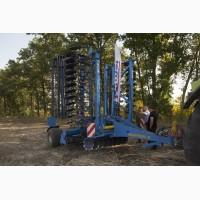 Услуги обработки почвы дисковым лущильником farmet softer 6