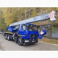 Продажа новых автокранов КС-5571BY-С-22 Машека 32 тонны, стрела 30 метров