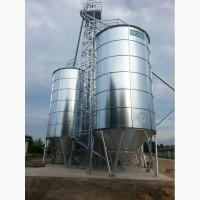 Силос с конусным дном 213 т (0, 78 т/м3) - Купить конусный силос для зерна