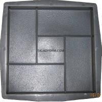 Формы для тротуарной плитки квадрат Кирпич