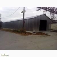 Каркас ангара 12, 0х20, 0 высота 5, 0(м) цена 700 грн за м/кв
