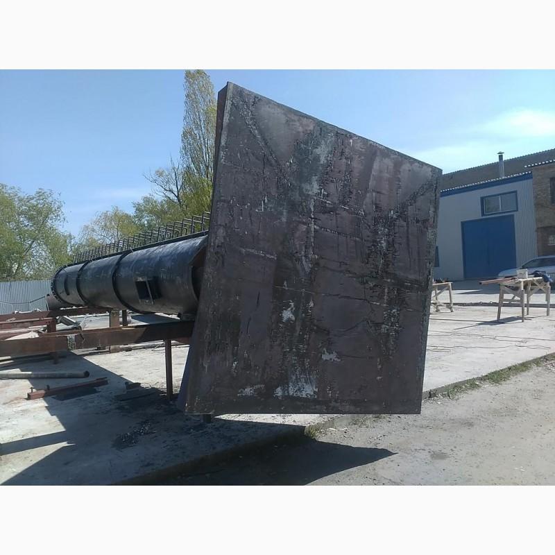 Фото 5. Возведение конструкций металлических дымовых труб