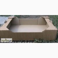 Изготавливаем и реализуем ящик для клубники (гофро-лоток)