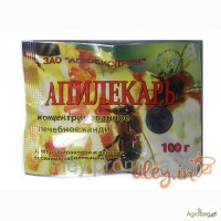 Апилекарь(1 пак.х 100 г. на 1 пчелосемью) 19 грн