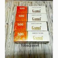 Гильзы для сигарет, гильзы для табака, сигаретные гильзы GAMA 500 4 Упаковки