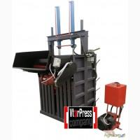 Пресс гидравлический усилие 16 тонн с дыроколом для ПЭТ- бутылки