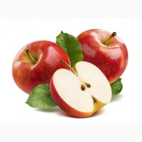 Яблоко красное красивое