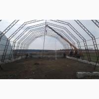 Фермы металлические шириной 12, 15, 18м ( каркасы ангаров), Обмен на зерновые