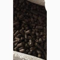 Пеллеты из лузги подсолнуха от производителя от 1600 грн