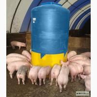 Кормушка для свиней бункерного типа (бункер 2 м.куб)