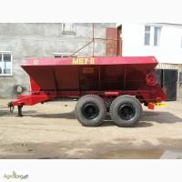 Машина для внесения удобрений МВУ-5, МВУ-6, МВУ-8 и запчасти к ним