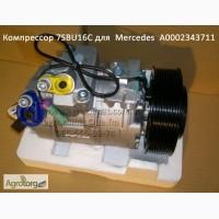 Компрессор 7SBU16C для кондиционера Mercedes-Benz Actros, Axor, Actros A00023437