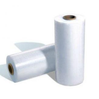 Прозрачная полиэтиленовая термоусадочная пленка в рулоне. Звоните