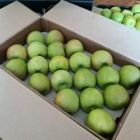 Яблоки калибруем и сортируем на линии