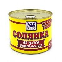 Солянка мясная украинская, 525г, консервы, на 2 порции, Готовые блюда, Одесса