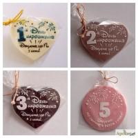 Шоколадные презенты гостям на 1-м, 2-м, 3-м и 5-м Дне Рождения ваших деток