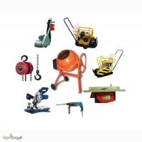 Розпродаж будівельного обладнання (б.у.)
