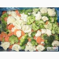 Овощная смесь Царский салат - состав: морковка кольцо, капуста брокколи, капуста цветная