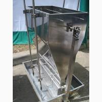100% нержавейка. Кормовые автоматы для откорма свиней увлажненным кормом (КСВ323)