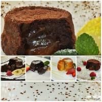Лава кейк (шоколадный фондан)