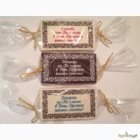 Шоколадная благодарность с Крещением ваших деток