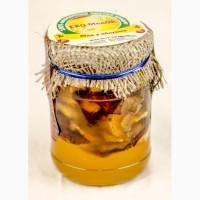 Мед с яблоком, 320 грамм