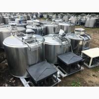 Охолоджувач молока Б / У танк, цистерна, ванна 500, 800, 1000, 1600, 2000, 4000 літрів