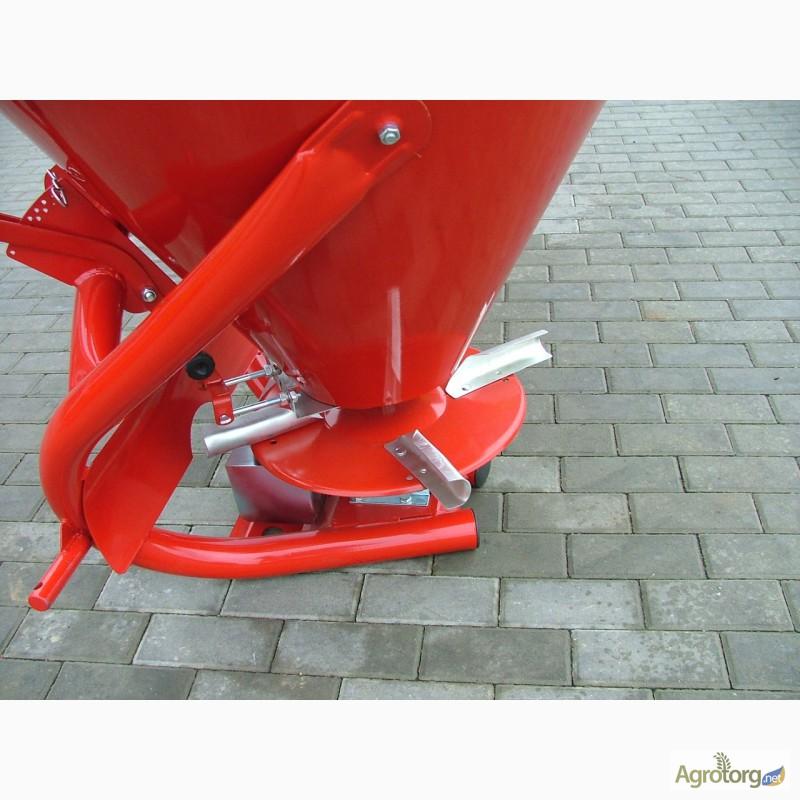 Разбрасыватель минеральных удобрений РУМ-5: устройство.