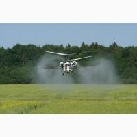 Услуги вертолета по химобработке полей