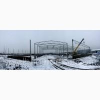 Прямостенный ангар продам Ровно. Строительство зданий и сооружений