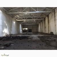 Продам бетонный склад 5400м2 бу