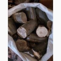 Дубовые брикеты нестру d 70 mm, доставка по всей Украине