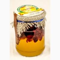 Мед с клюквой, 320 грамм