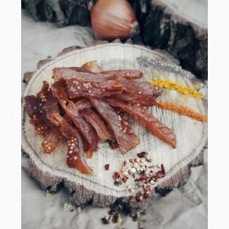 Новинка! Мясные и рыбные сыровяленные снеки, джерки
