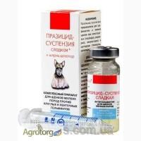 ПРАЗИЦИД-СУСПЕНЗИЯ СЛАДКАЯ для щенков мелких пород 6 мл