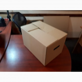 Гофроящик для яблок полный клапан 385х275х280