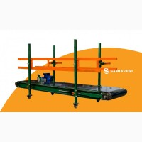 Конвейер для перемещения и транспортировки грузов (мешков, ящиков и т.д.)