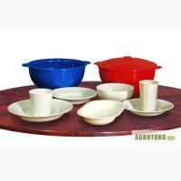 Пластмассовая многоразовая посуда