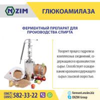 Глюкоамилаза ENZIM | Завод ферментных препаратов ЭНЗИМ (г.Ладыжин, Украина)