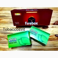 Гильзы для сигарет Набор Firebox 500 + 2 HOCUS Menthol