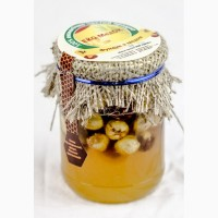 Мед с фундуком, 320 грамм