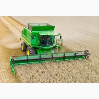 Комбайны John Deere для уборки зерновых, подсолнечника, кукурузы
